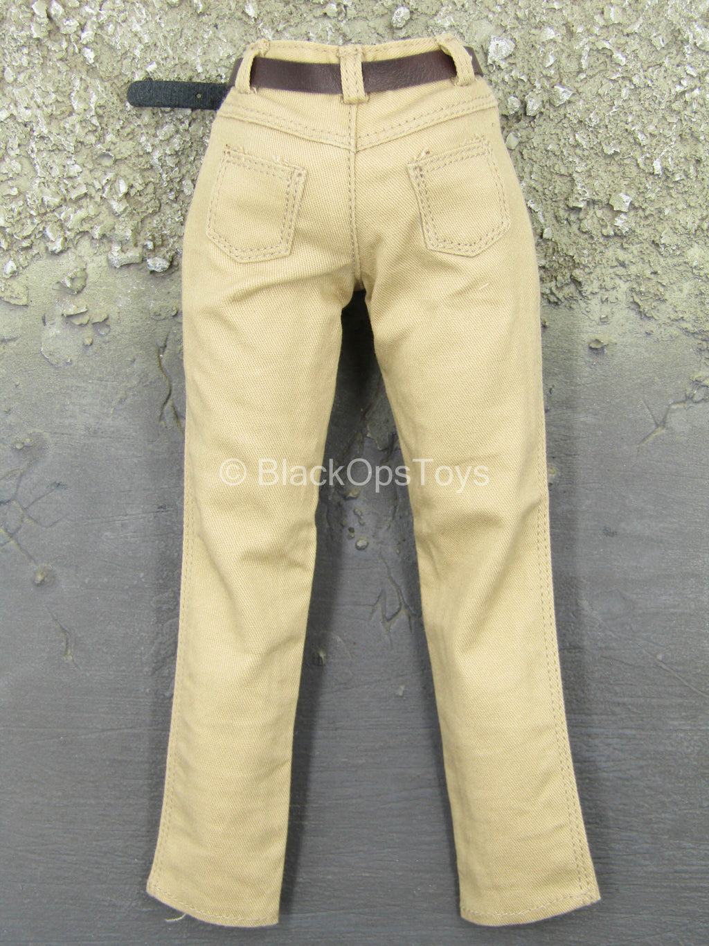 Men's Retro Leather Suit - Pants w/Leather-Like Belt