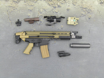 PMC Urban Sniper - Custom 5.56mm SCAR Assault Rifle Set