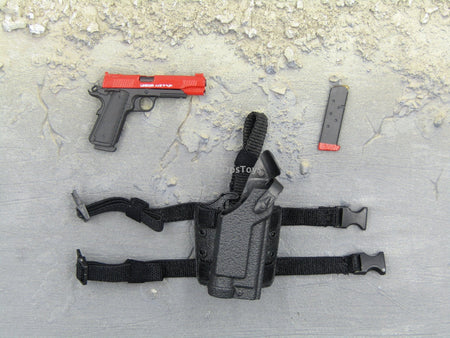 "Doomsday End War Death Squad ""K"" Caesar Call Of Duty Ghosts Pistol & Drop Leg Holster Set"