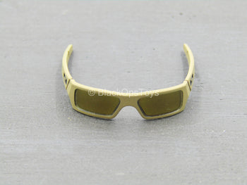 NSW OPS Overwatch - Sharpshooter - FDE Tan Glasses w/Gold Lenses