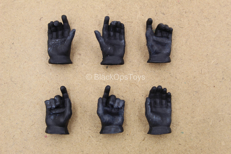 1/12 - The Joker Bank Robber - Black Gloved Hand Set (x6)