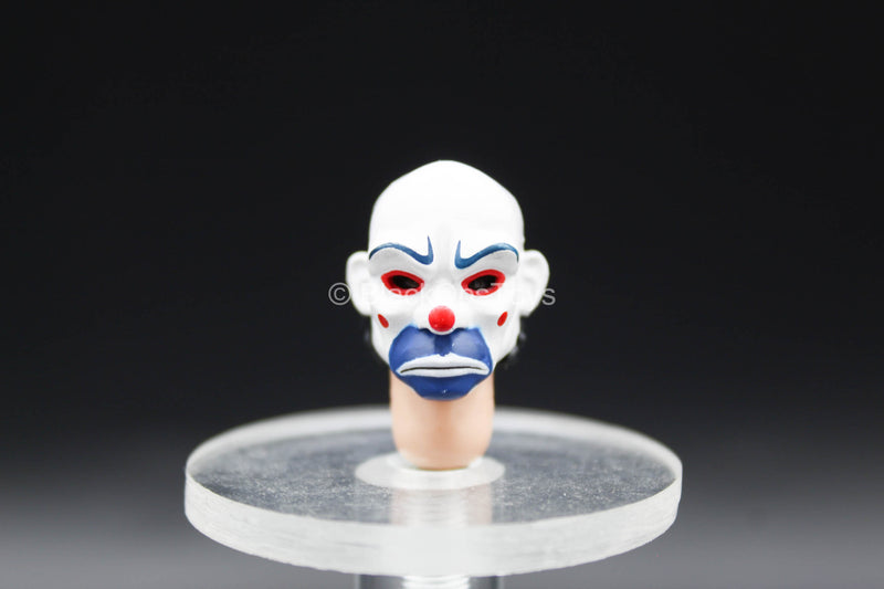 1/12 - The Joker Bank Robber - Head Sculpt w/Clown Mask