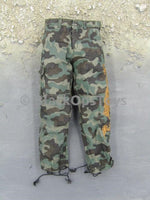 Hot Toys Iron Man The Mandarin Camo Combat Pants w/Gold Dragon Design