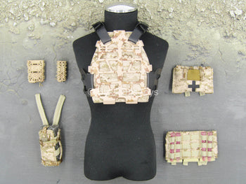 NSW OPS Overwatch - Sharpshooter - Arid Multicam Body Armor Set