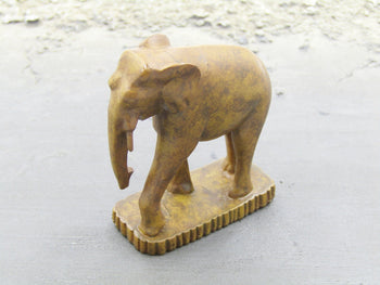 James Bond 007 - Wooden Elephant Statue from Thailand