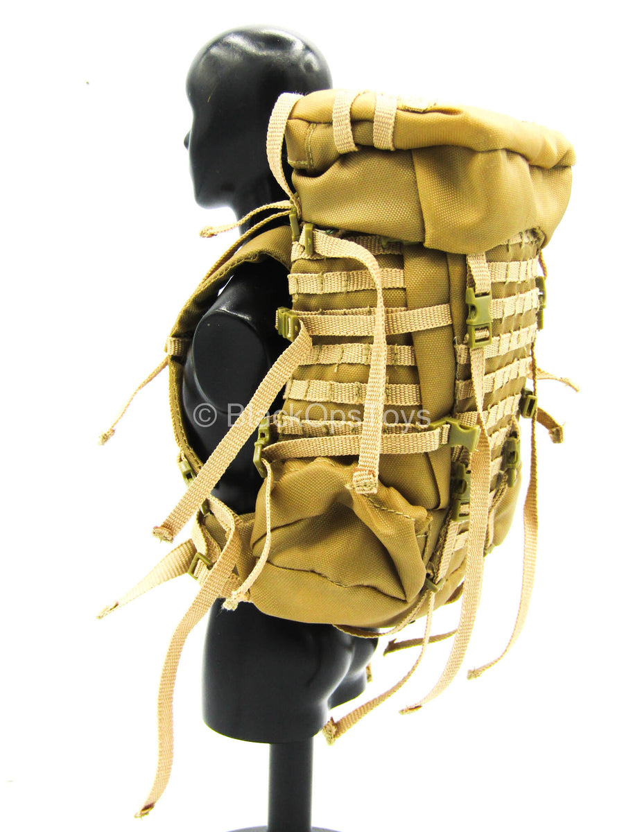 Seal Team 5 - Coyote Tan Backpack w/Grey Cover