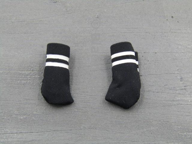 Cheerleading Black Socks Set C