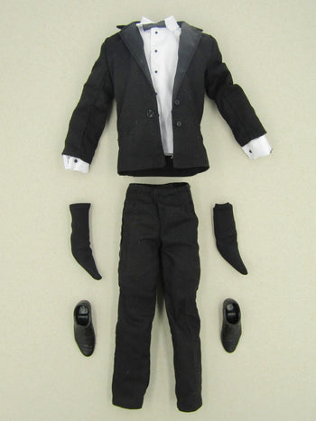 James Bond 007 - Black Tuxedo Suit Set