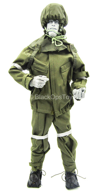 WWII - US SF - Kevin Yates - Green MOPP Suit Set
