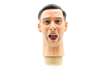 Male Head Sculpt w/Expression Version 8