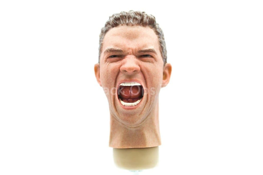 Male Head Sculpt w/Expression Version 7