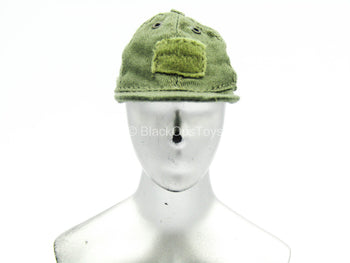 Adventure & Tactical Set C - OD Green Cap w/Hook & Loop Panels