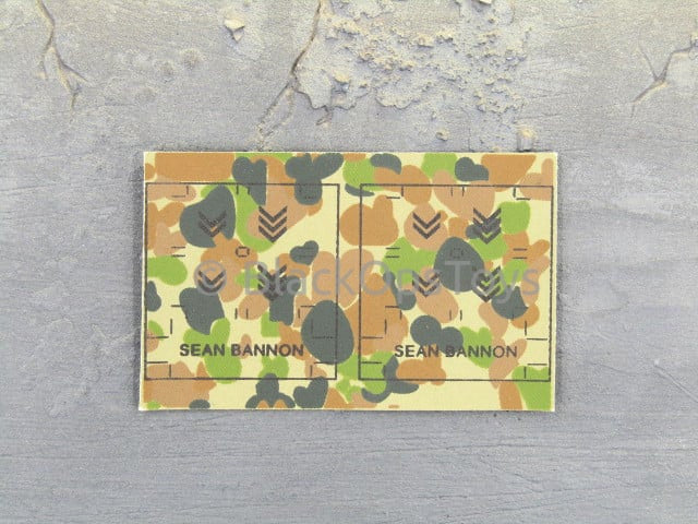 SASR - Sean Bannon - DCP Camo Patches