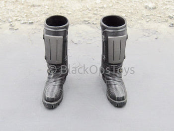 Virtual Toys Epoch Female Cop Anderson Judge Dredd Peg Type Combat Boots