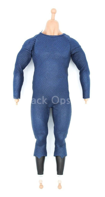 Man of Steel - Jor-El - Male Base Body w/Blue Body Suit