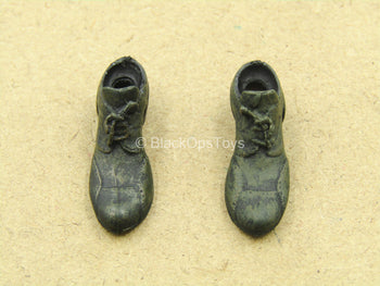 1/12 - The Dark Knight - The Joker - Black Dress Shoes (Peg Type)