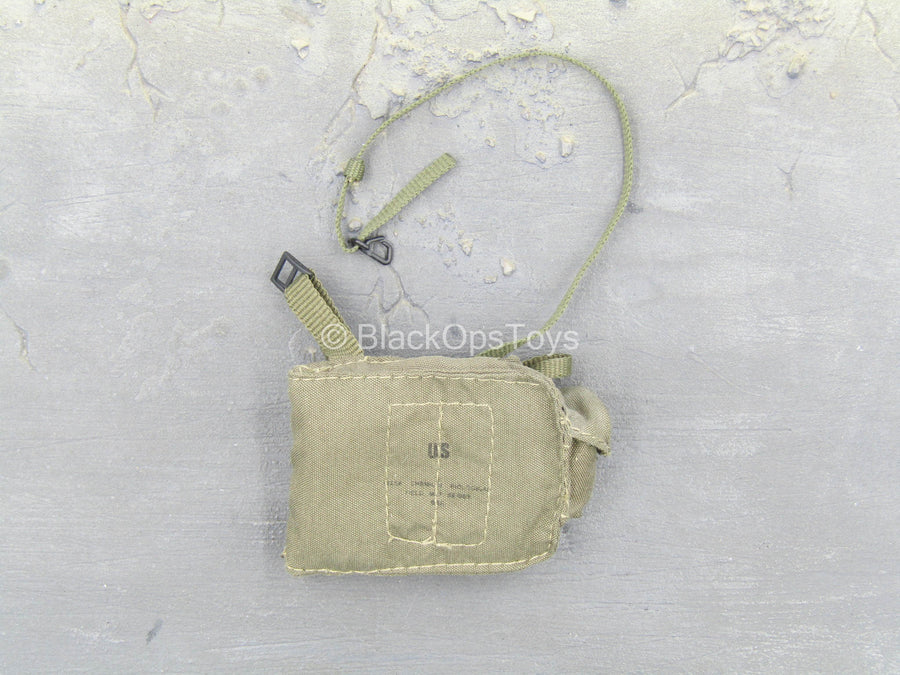British NBC - OD Green Gas Mask Pouch