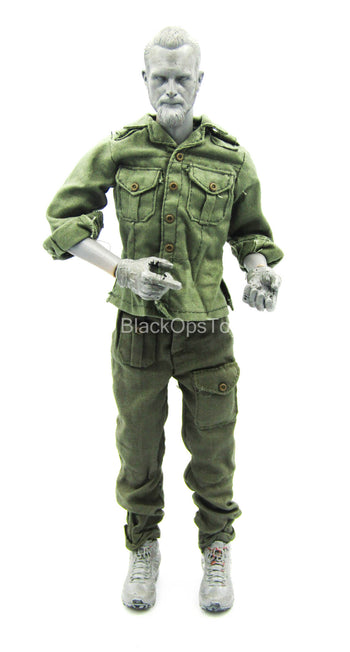 WWII - British Sergeant - OD Green Combat Uniform Set