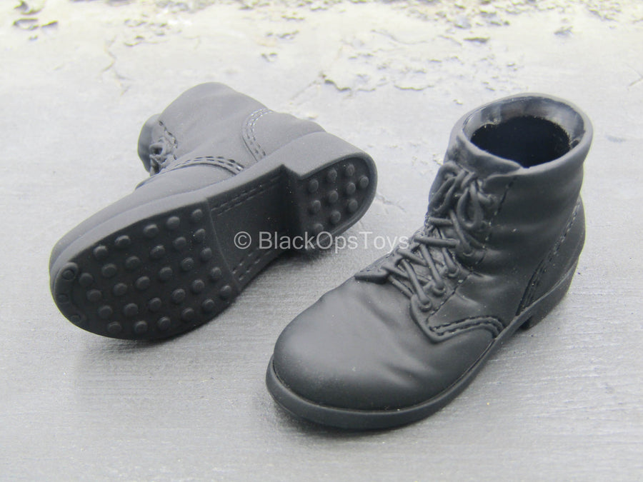 Terminate - Lucifer - Black Molded Boots (Foot Type)