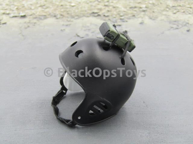 Rare Medicom Special Forces Series U.S. Navy Seal Team Six Black Protec Crash Helmet
