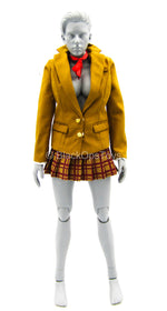 Office Lady - Gold-Colored School Uniform