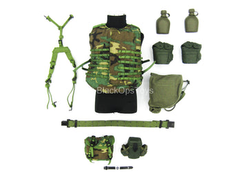 Heavy Machine Gun Team - Woodland Combat Vest Set (Type 2)