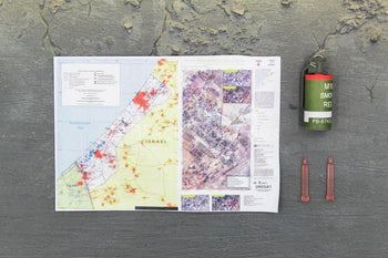 Syria Investigation Team - Red Smoke Grenade & Map Set