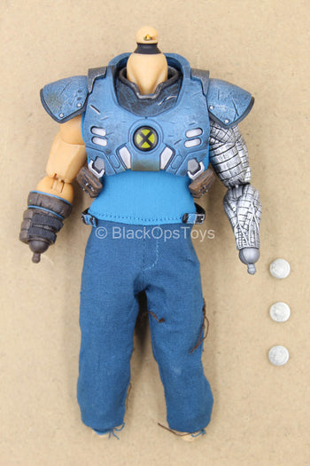 1/12 - Cable - Male Base Body w/Light Up Armor