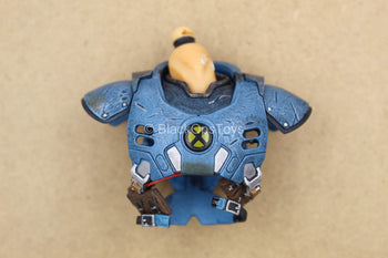 1/12 - Cable - Blue Chest Armor w/Neck Peg (No Light Up Action)