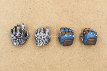 1/12 - Cable - Left Robotic Trigger Hand Set (x4)