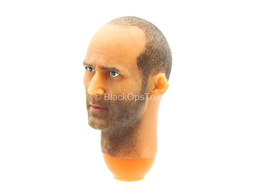 The Courier - Male Head Sculpt w/Jason Satham Likeness