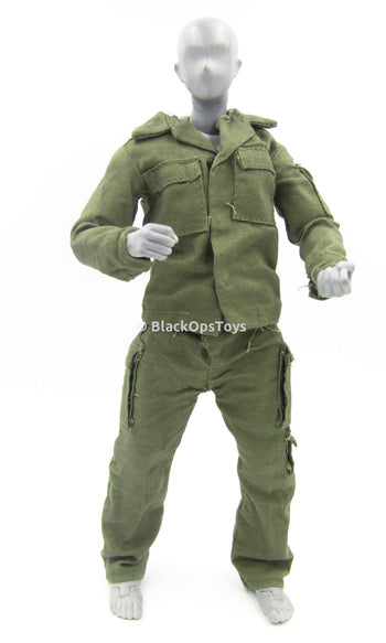 Israeli IDF - OD Green Combat Uniform Set