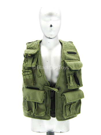 CIA Field Agent - OD Green PMC Photo Vest