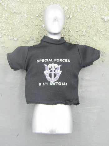 US Army - Black Special Forces T-Shirt