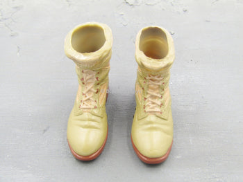 US Army - Tan Danner Molded Boots (Foot Type)