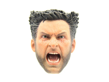 Wolverine - Male Yelling Head Sculpt