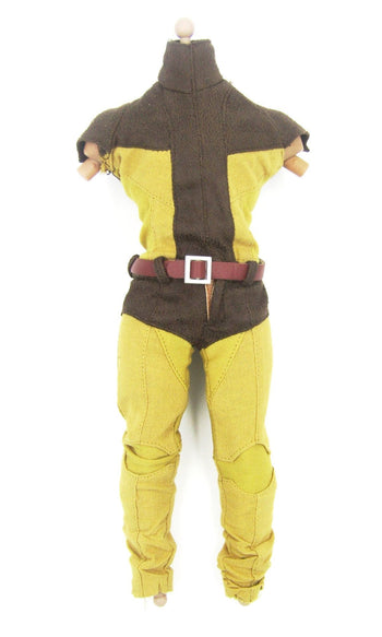 X-Men - WOLVERINE - Classic Brown & Yellow Uniform Set