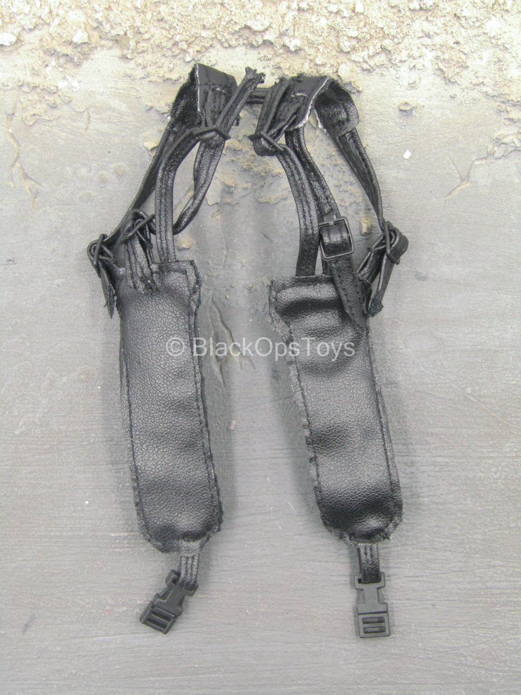 Akagi Ritsuko - Black Leather-Like Shoulder Holster
