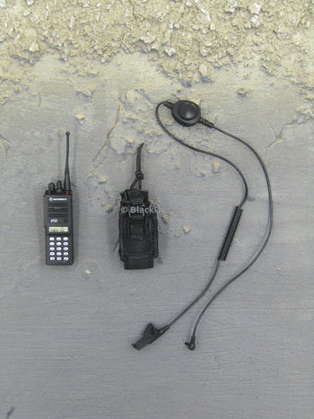 Hong Kong Airport Security Unit SAR Radio & Headset