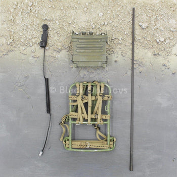 Vietnam - LRRP - OD Green Radio w/Carrying Frame