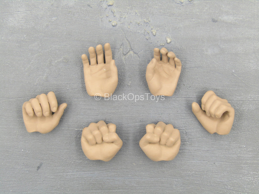 Alexander The Great - Male Hand Set (x6)