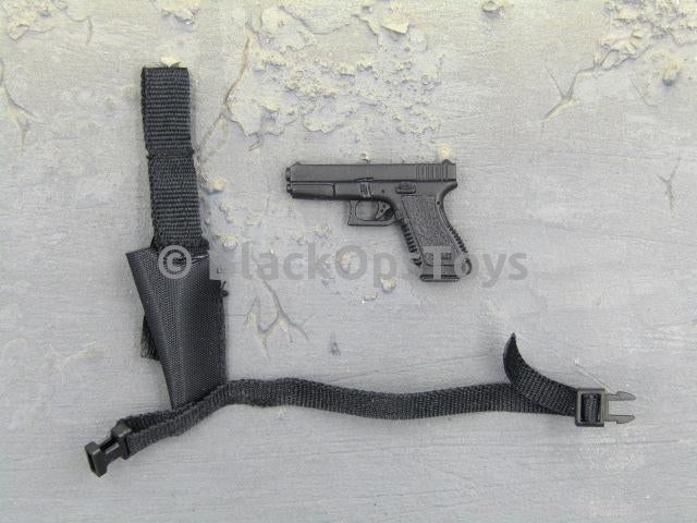 Dragon Hong Kong Police S.D.U. Wai Black 9MM Pistol & Holster
