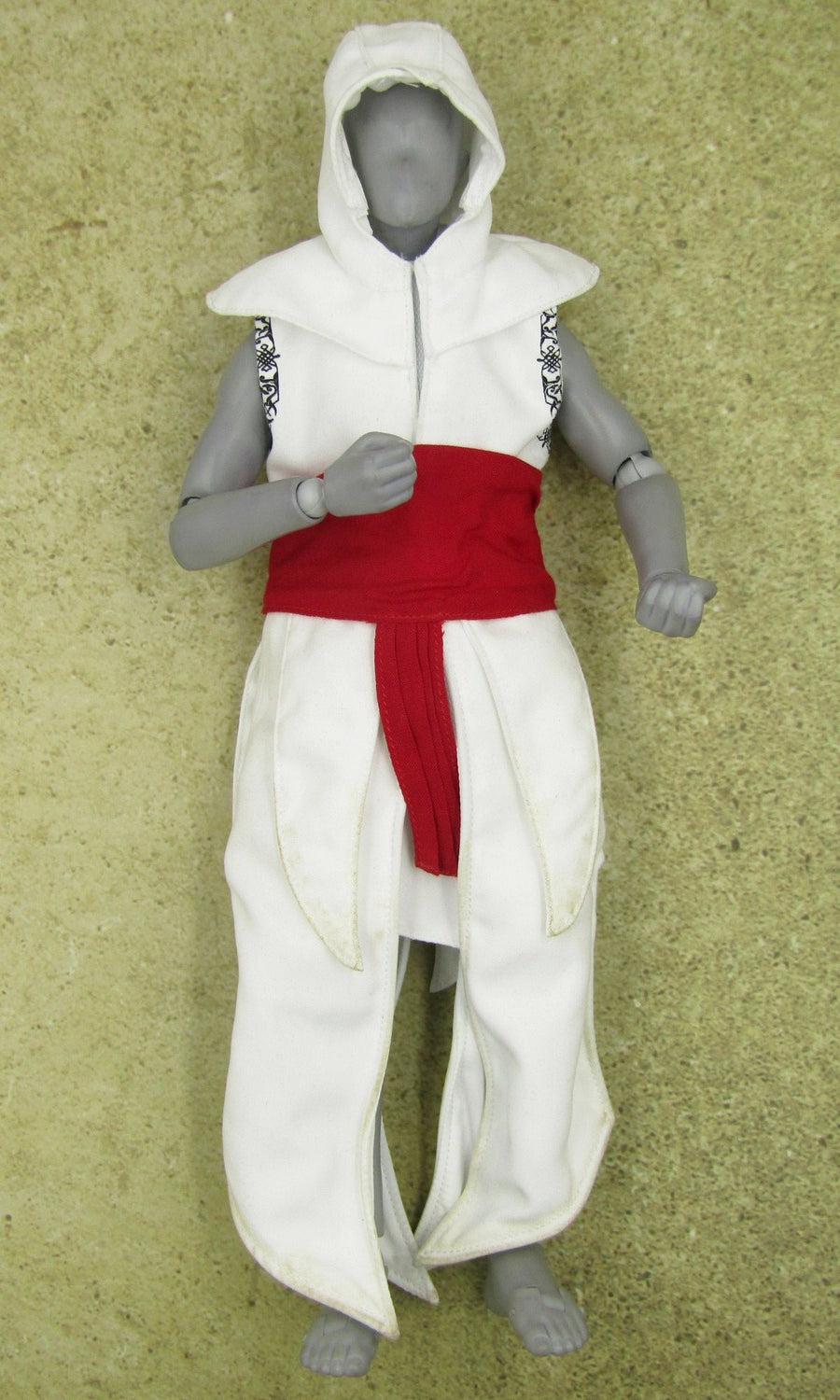 Assassin S Creed Altair White Red Robes Blackopstoys