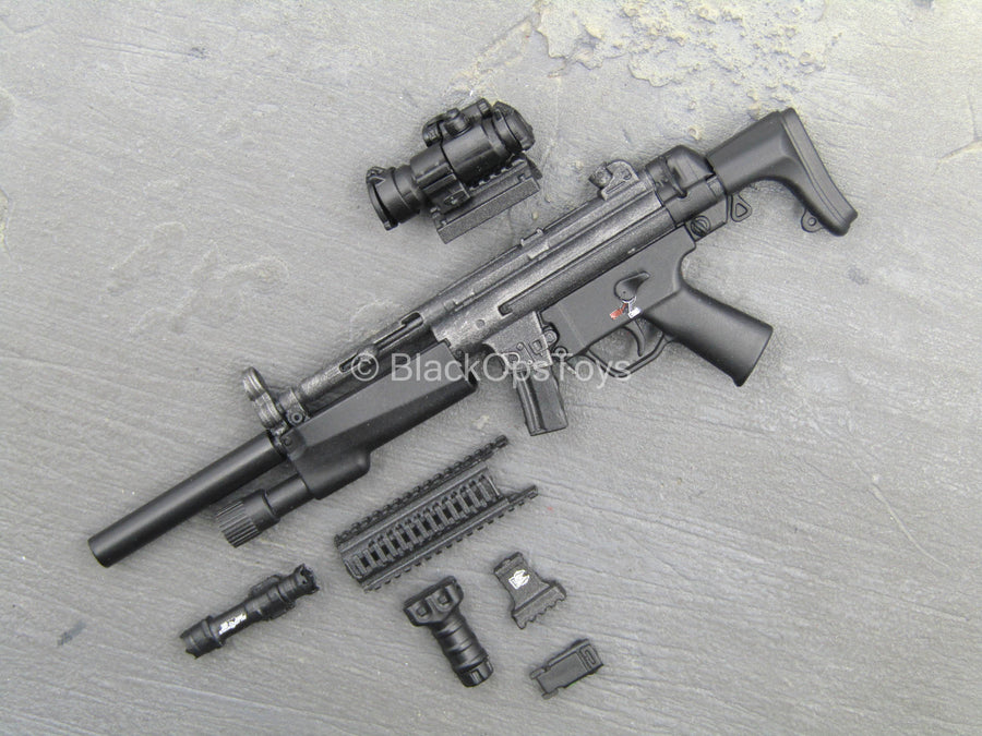 British - Armed MPS - Black HK MP5 w/Accessory Set Type 2
