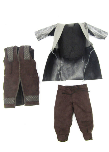 Gimli Lord of the Rings Chainmail Type Armor, Overshirt, and Pants