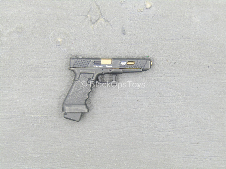 John Wick Black Gold 9mm Pistol Blackopstoys