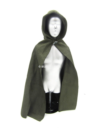 Gimli Lord of the Rings Elfish Cape with Leaf Pin