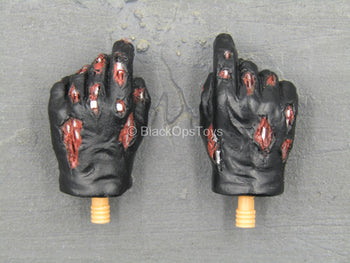 Terminator - Battle Damaged T-800 - Ripped Gloved Hand Set (x2)