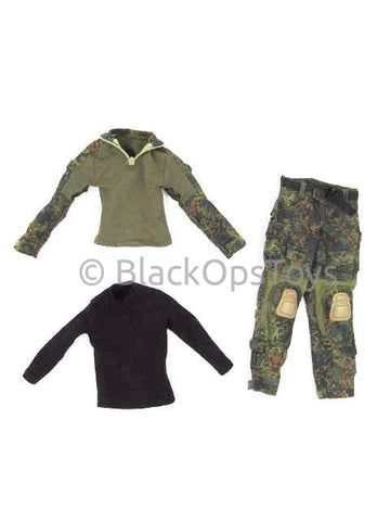 Dam Toys German KSK Assaulter Flecktarn Combat Uniform Set