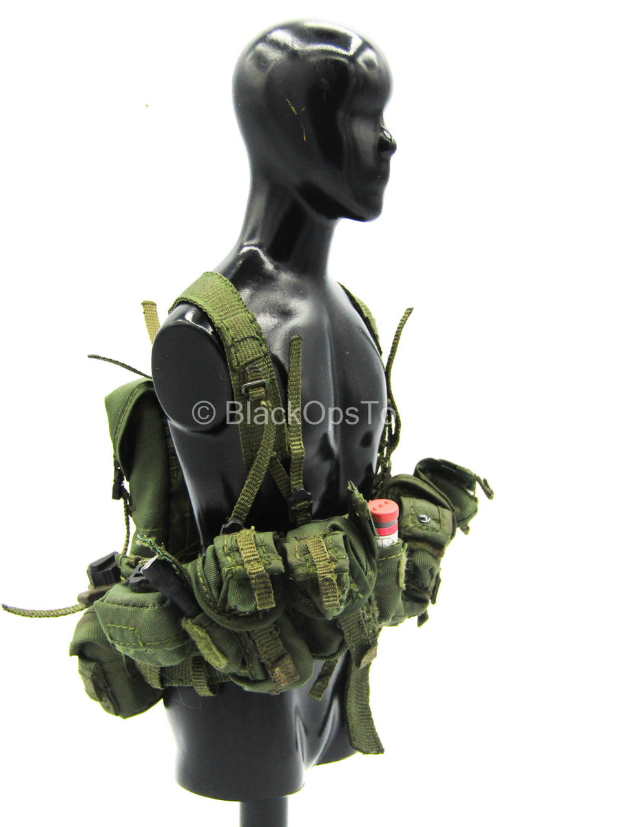 ACE - OD Green Vest w/Pouch Set